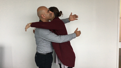The Right Way to Give a Heart-to-Heart Hug